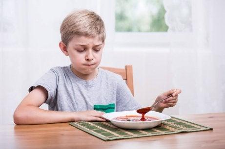 Brist på aptit