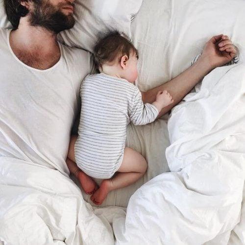 Pappa och son