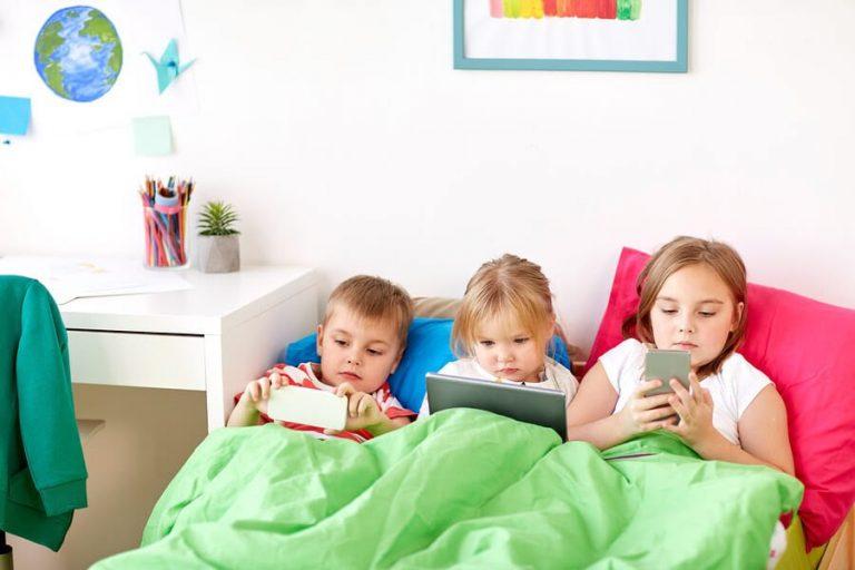 Vet du från vilken ålder barn ska ha mobiltelefoner?