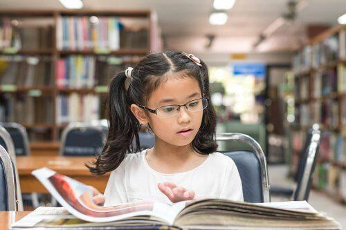 Begåvade barn gillar att läsa
