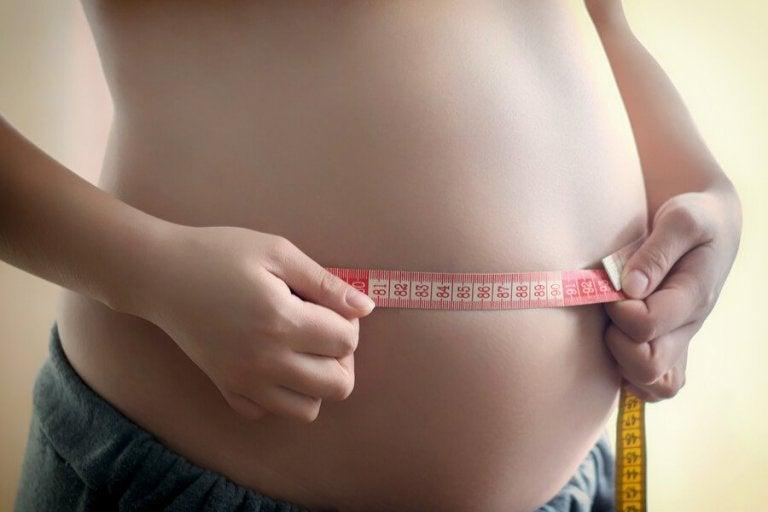 Vad gör jag om barnet är för stort för fosteråldern?