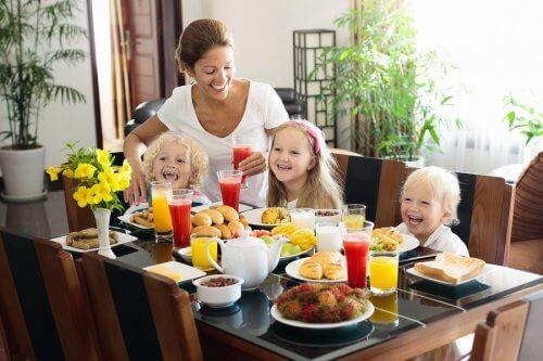 vitaminer vid frukost
