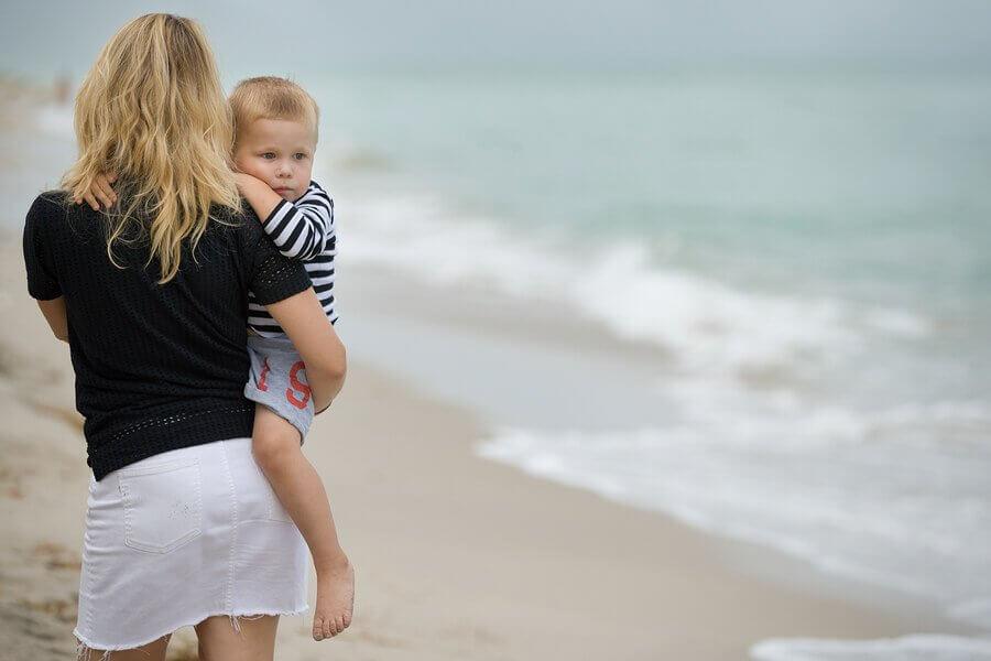 Konsekvenser hos barn av frånvarande föräldrar