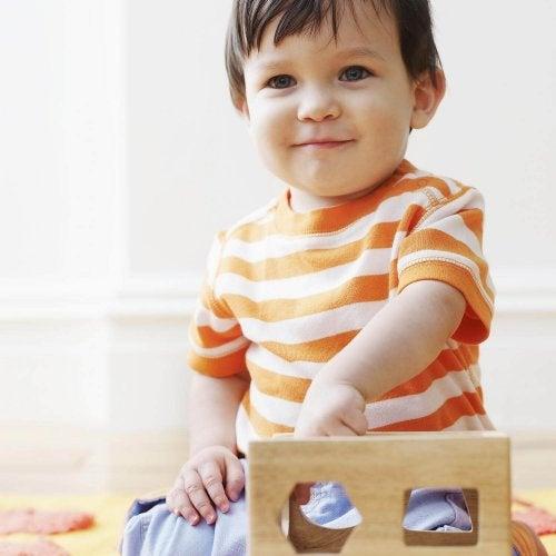 Barn leker självständigt