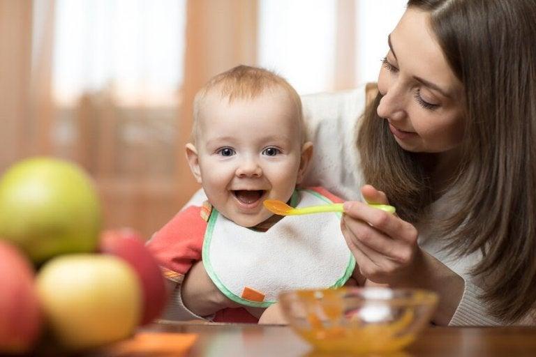 Supergoda puréer för 6-9 månader gamla barn