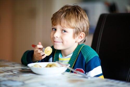 Vikten av att äta nyttigt från en tidig ålder