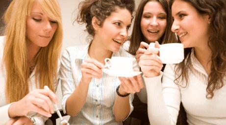 kaffe och amning