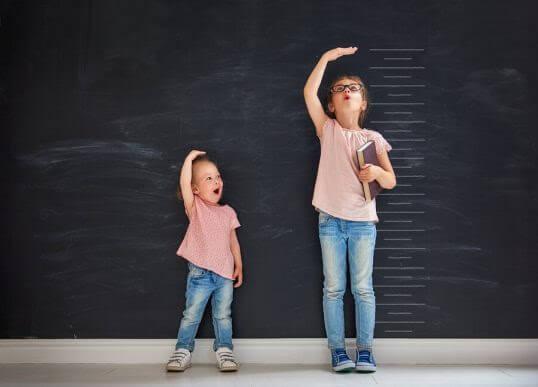 Vid vilken ålder slutar flickor växa?