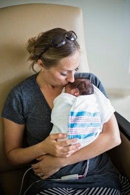 För tidigt född bebis
