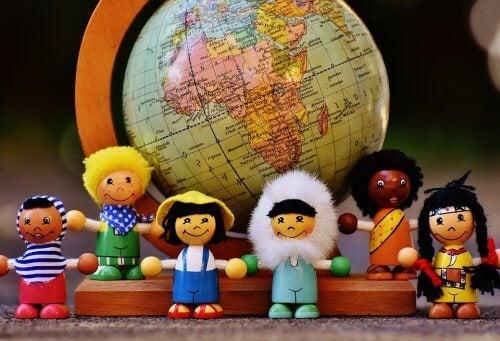 Lär dina barn att respektera mångfald