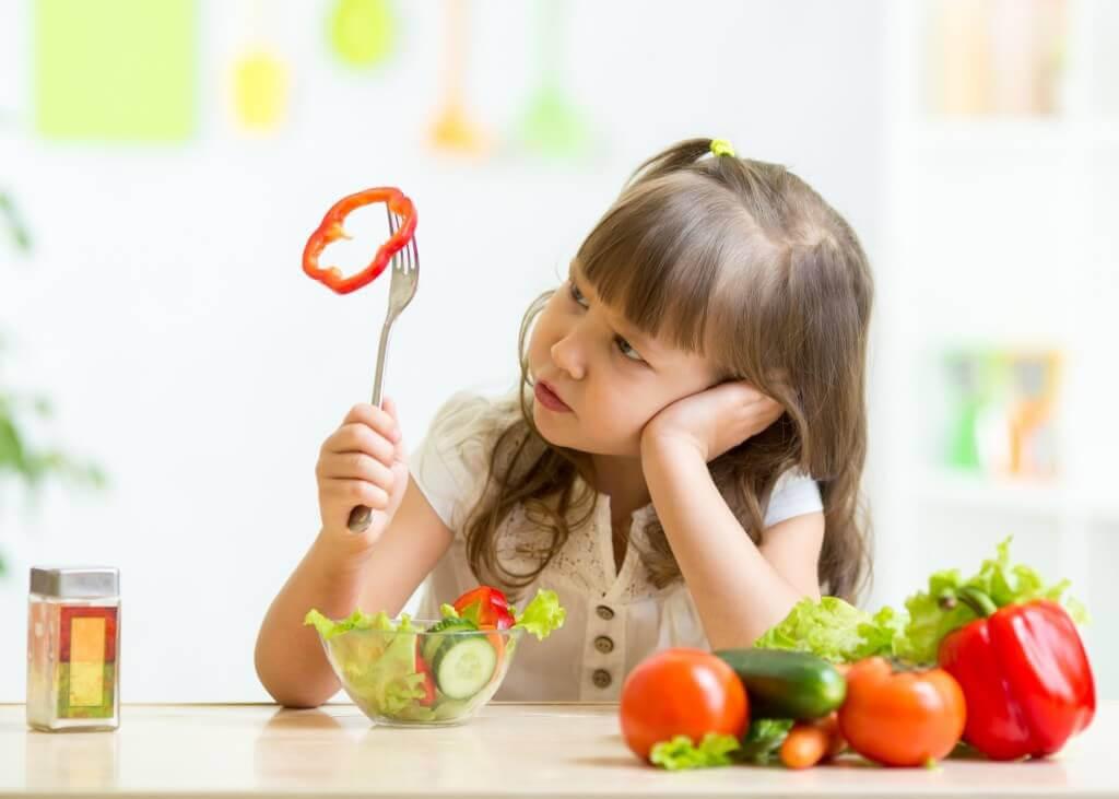 När ett barn inte äter