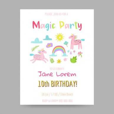 5 tips på inbjudningar till ditt barns födelsedagskalas