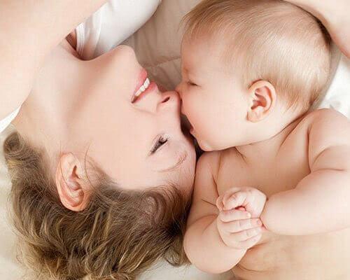 mor och baby