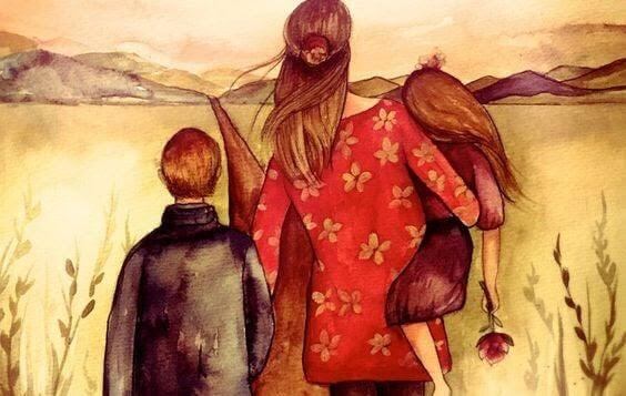 Familjer byggs med hjärtat