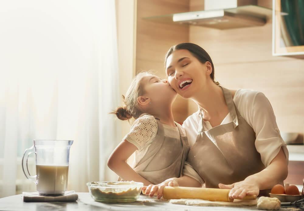 En mammas kärlek genom hennes dotters ögon