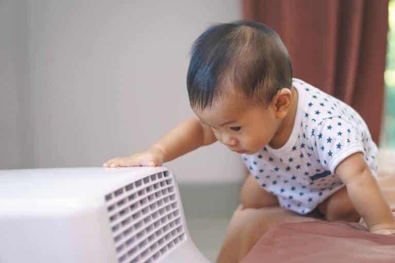 Hur man använder luftkonditionering när man har en bebis