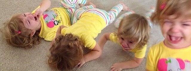 flicka har raseriutbrott