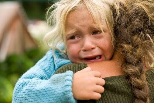 Barn behöver oss när de har raseriutbrott