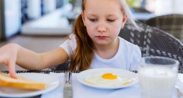 Mitt barn äter mindre, ska jag vara orolig?