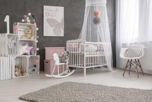 Hur du inreder din bebis sovrum