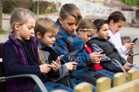Negativa effekter av teknologi på barn