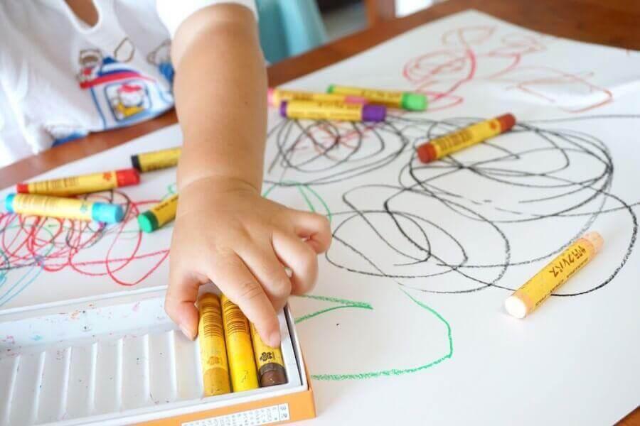 barn ritar
