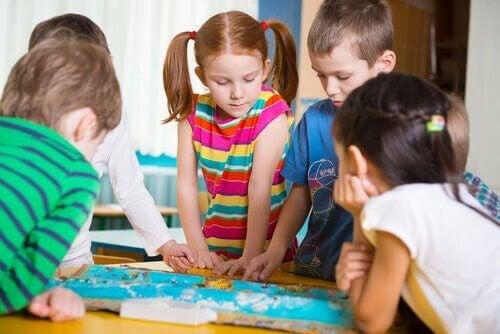 Utvecklande aktiviteter för barn i förskoleåldern