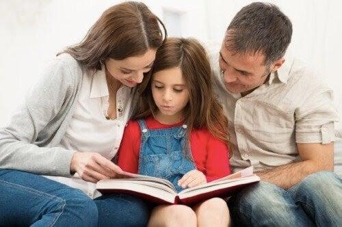Uppfostra barn: Var överens med din partner