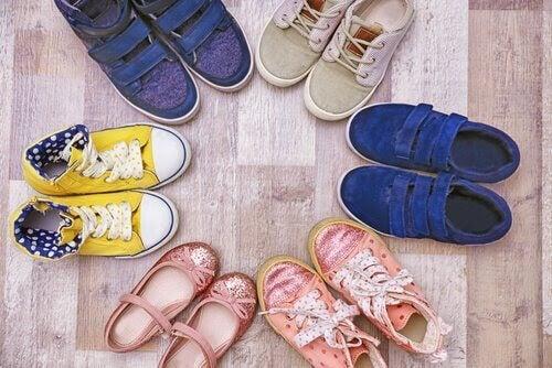 ring med skor
