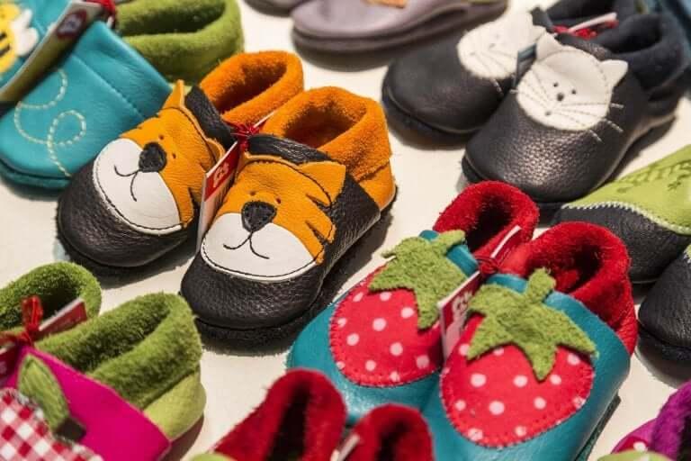 välj rätt skor åt dina barn