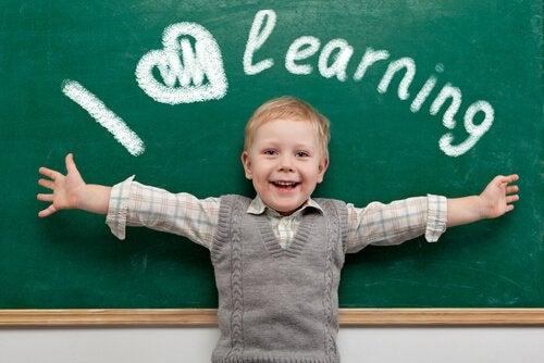 Barn älskar att lära sig tungvrickare.