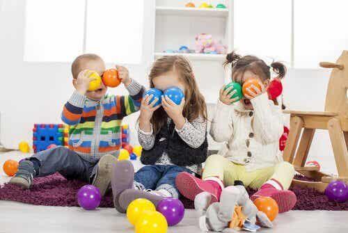 För många leksaker kan vara skadligt för barn
