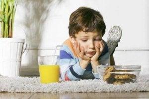 ökad aptit och trötthet