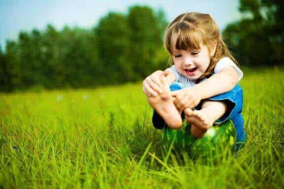 Tips för att ta hand om barns fötter