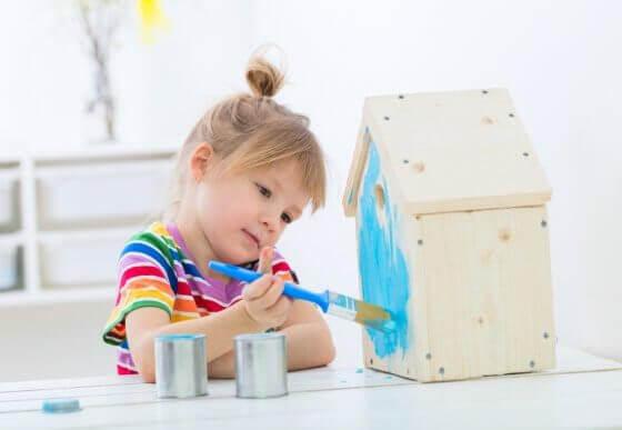 Aktiviteter för barn hemma