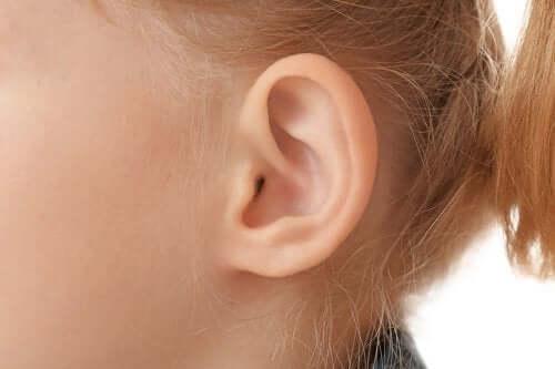 Barns öra