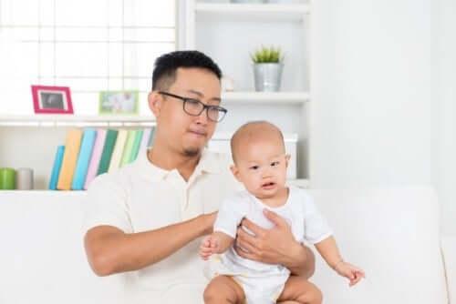 Gastroesofagal refluxsjukdom hos spädbarn