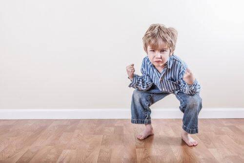 Märkliga rörelser hos barn