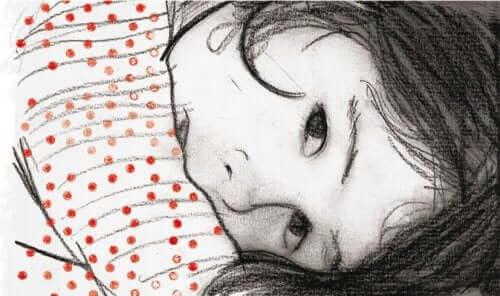 Illustration som föreställer en flicka.
