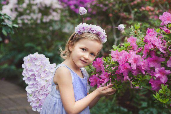Hur man gör hårband med blommor
