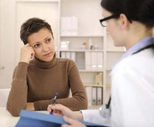 Stämningsstabiliserande läkemedel under graviditeten: Läkare och kvinna.