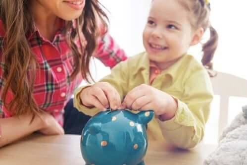 Lär barnen värdet av pengar