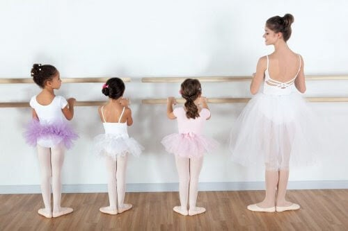 fördelar med dans: barn dansar