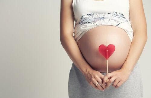 Den 22:a veckan av graviditeten