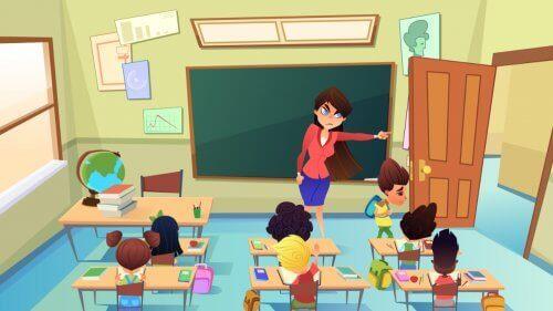 Hantering av bestraffning i klassrummet