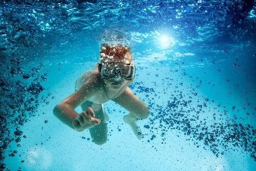 Fördelarna med dykning för barn