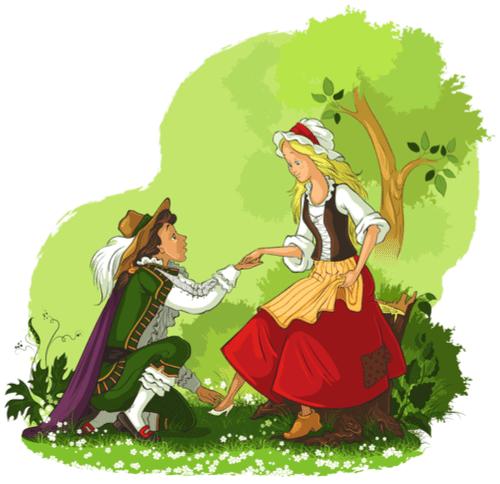 prins och prinsessa