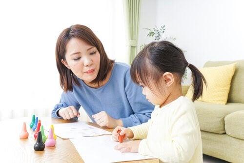 Au pair ritar med barn
