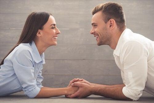 Prata säkert med din partner om vad som helst.