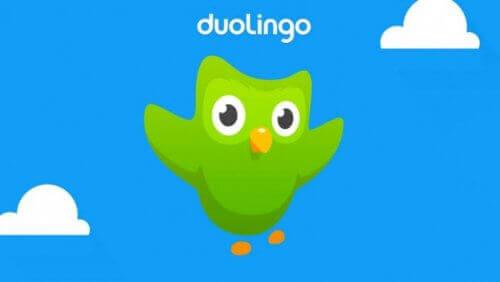 Det finns många språkappar, duolingo är en av dem.